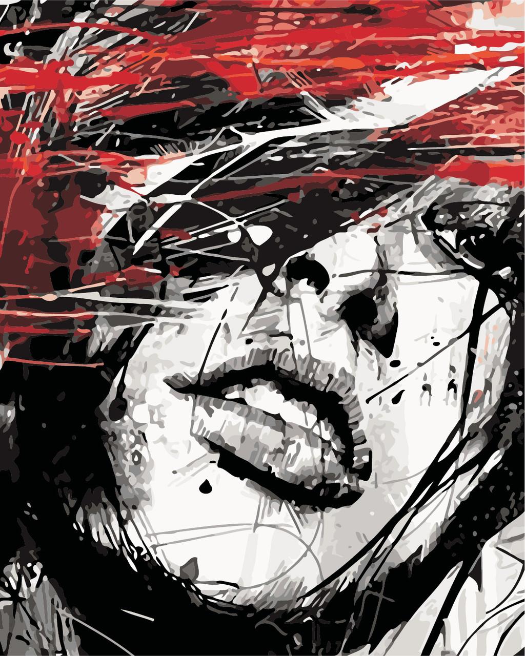Картина по номерам Страстный взгляд, 40x50 см Art Story