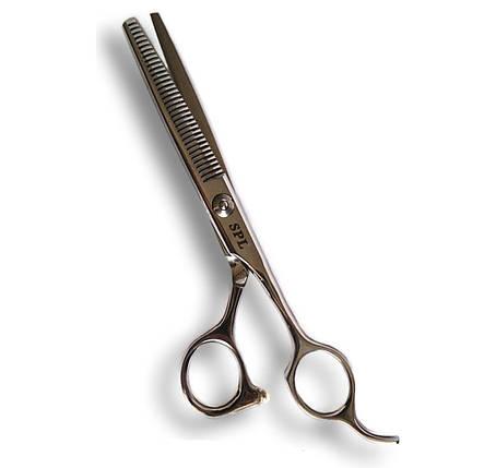 Профессиональные ножницы SPL, филировочные 6.0(90007-63), фото 2