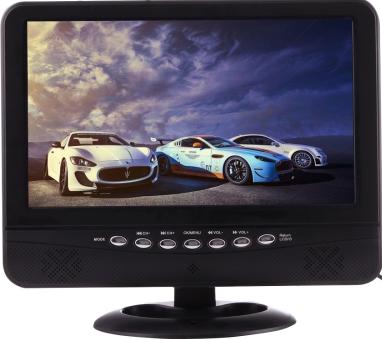 Портативный автомобильный телевизор NS-901 9.5 дюймов