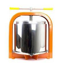 Пресс для сока ЛАН, 15 л, механический c рубашкой