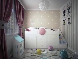 Детская кровать чердак Престиж-1 Лион