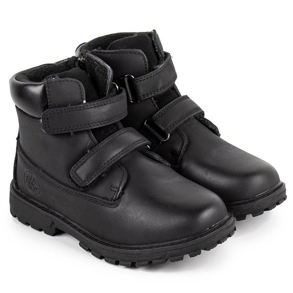 """Ботинки зимние для мальчиков """"TTOTA"""" 34  черный 980711"""