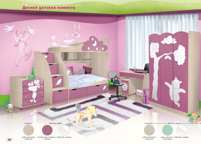 Детская кровать КРШ80 Дисней Модерн