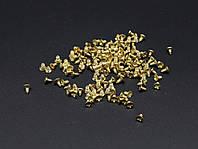 Саморез потайная шапочка. Цвет золото. 2х4 мм