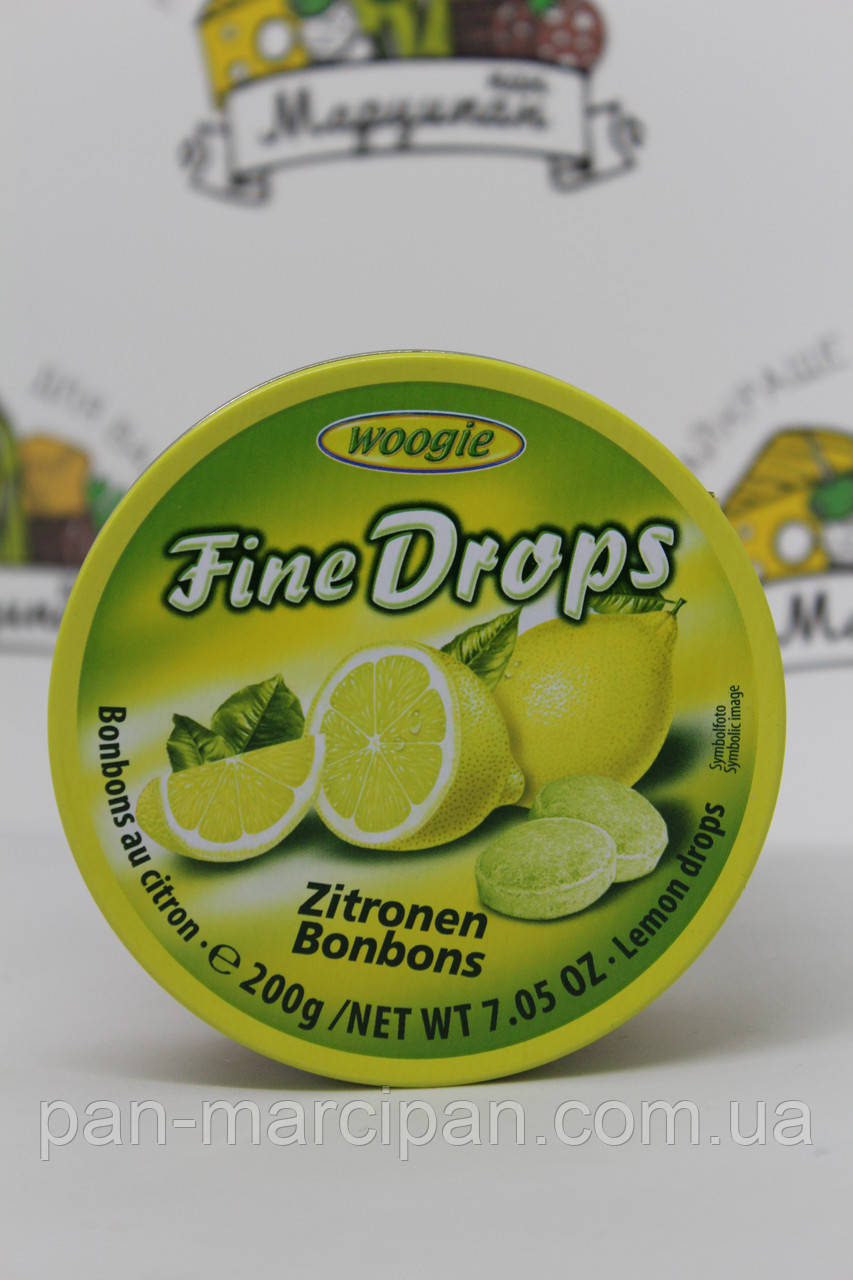 Драже Fine Drops лимон 200г