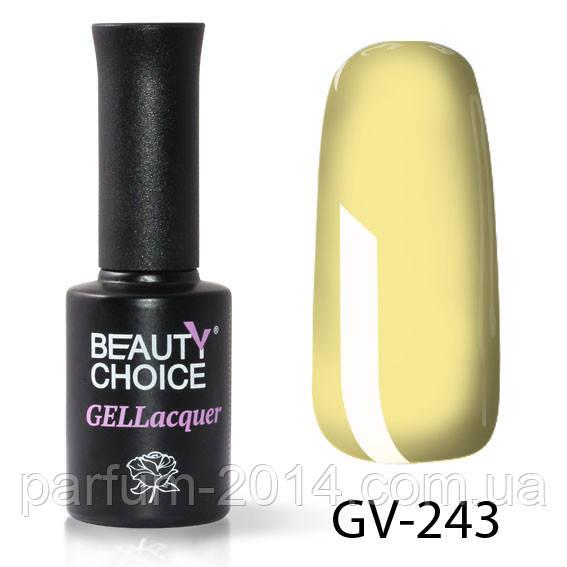 Цветной гель-лак beauty choice professional  GV-243