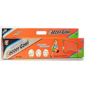 Футбольные ворота Bambi MR 0097 75-53-53 см сетка мяч насос