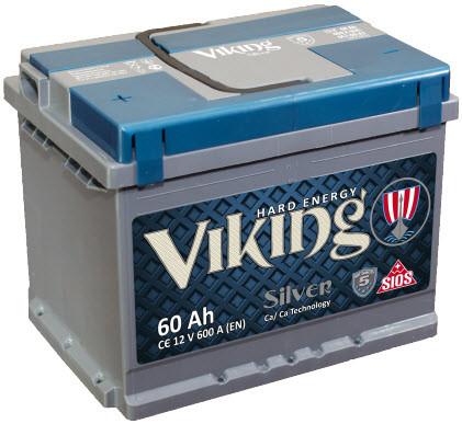VIKING SILVER 6СТ-75-АЗ EURO (0;1) M5