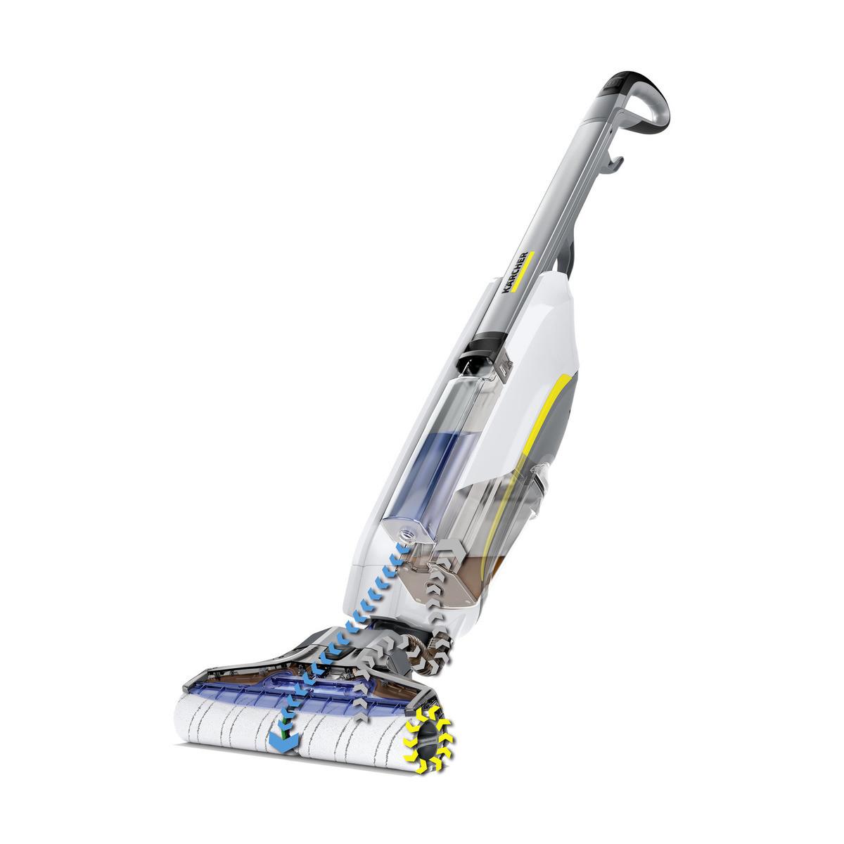 Апарат для вологого прибирання підлоги FC 5 PREMIUM (WHITE) KARCHER (Підлогомиюча машина для дому)