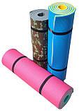 Килимок туристичний, фіолетово-сірий, т. 15 мм, розмір 60х180 см, виробник Україна, TERMOIZOL®, фото 3