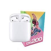 Беспроводные наушники DS 200 Bluetooth v5.0 Wiereless Headset / Цвет - Белые