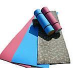 Килимок туристичний, фіолетово-сірий, т. 15 мм, розмір 60х180 см, виробник Україна, TERMOIZOL®, фото 4
