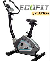Велотренажер магнитный EcoFit E 607B СЕРЫЙ