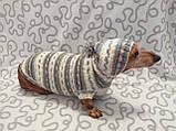 Одежда для собаки свитер с капюшоном,худи для собаки, фото 6