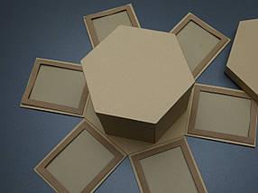 Коробка трансформер для фотографій. Крафт. 26х18см, фото 3