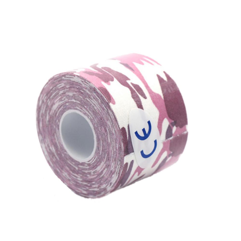 Тейп для фиксации сенсора Фристайл Либре розовый-хаки