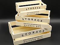 Ящик деревянный декоративный. 28х16,5х9см