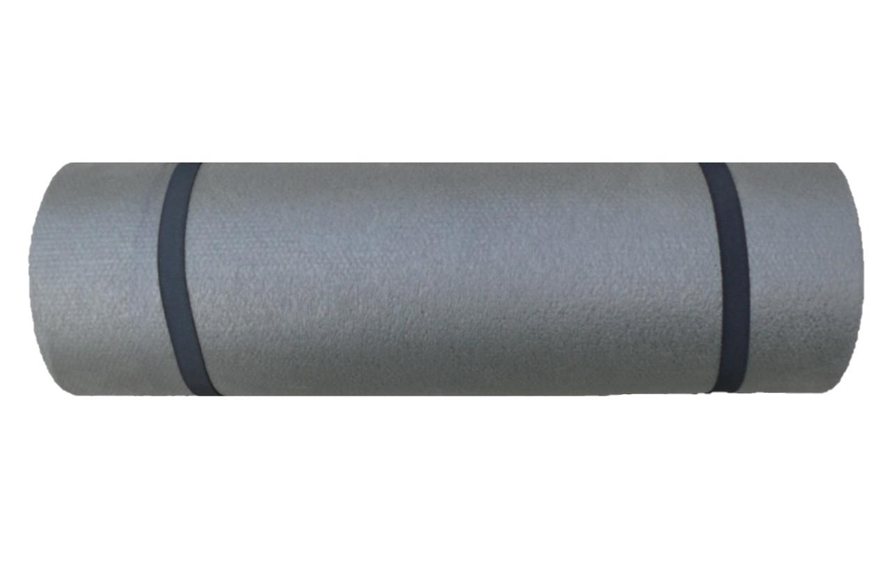 Каремат туристический, серый, т. 12 мм, размер 50х180 см, производитель Украина, TERMOIZOL®