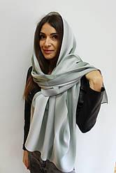 """Женский шифоновый шарф """"Линда"""" (мятный) 105001"""
