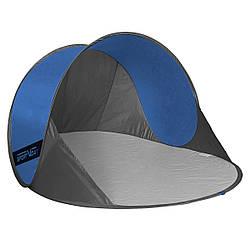 Пляжный тент SportVida 190x120 см SV-WS0004 Blue/Grey палатка для пляжа  синего цвета