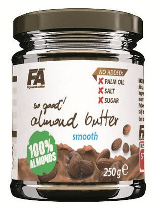 Мигдальне масло Fitness Authority So Good! Almond Butter 250 г , фото 2