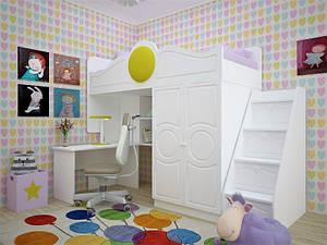 Дитяче ліжко трансформер Престиж-2 Ліон