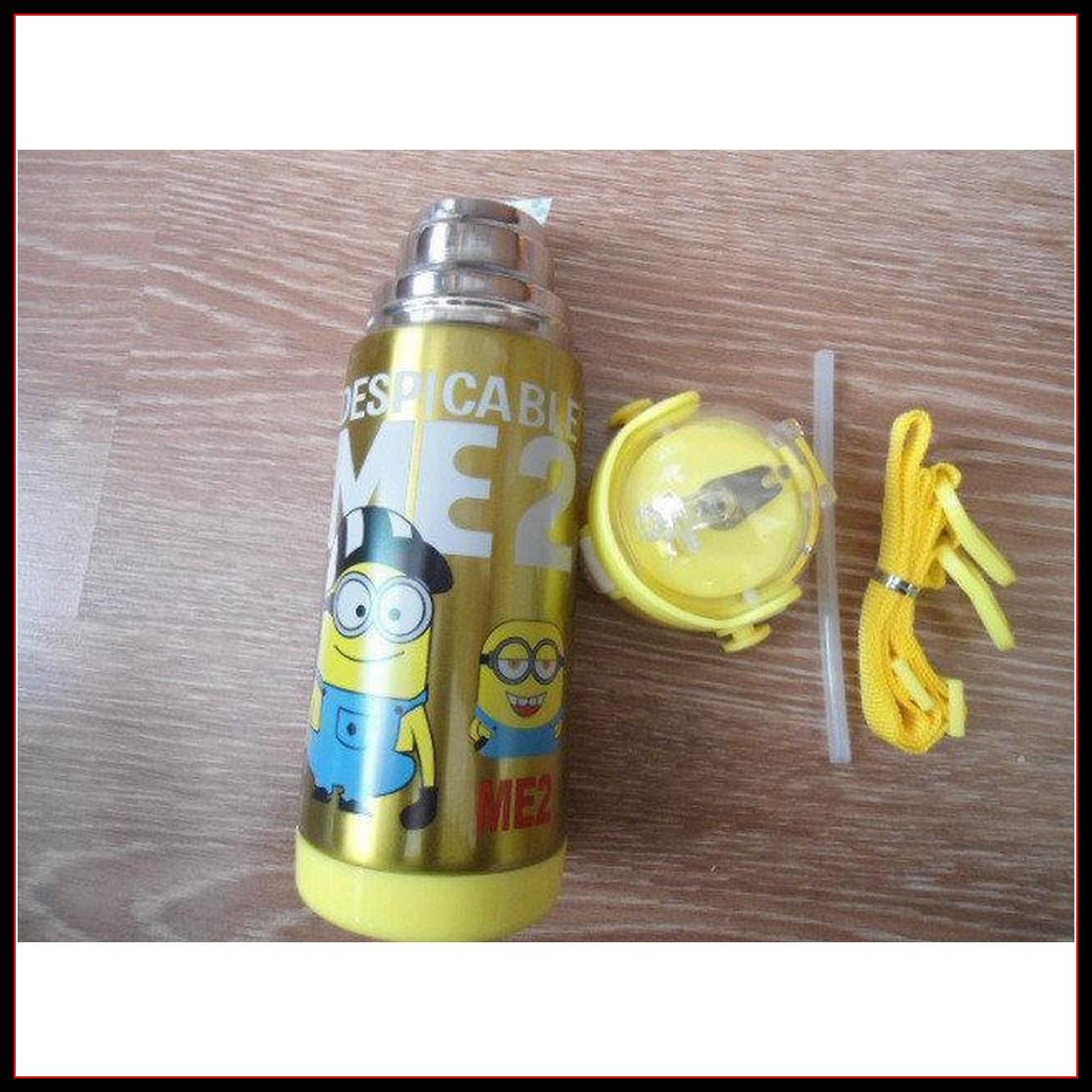 """Детский термос для напитков и чая с трубочкой 500ml """"Disney"""""""
