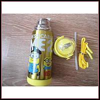 """Детский термос для напитков и чая с трубочкой 500ml """"Disney"""", фото 1"""