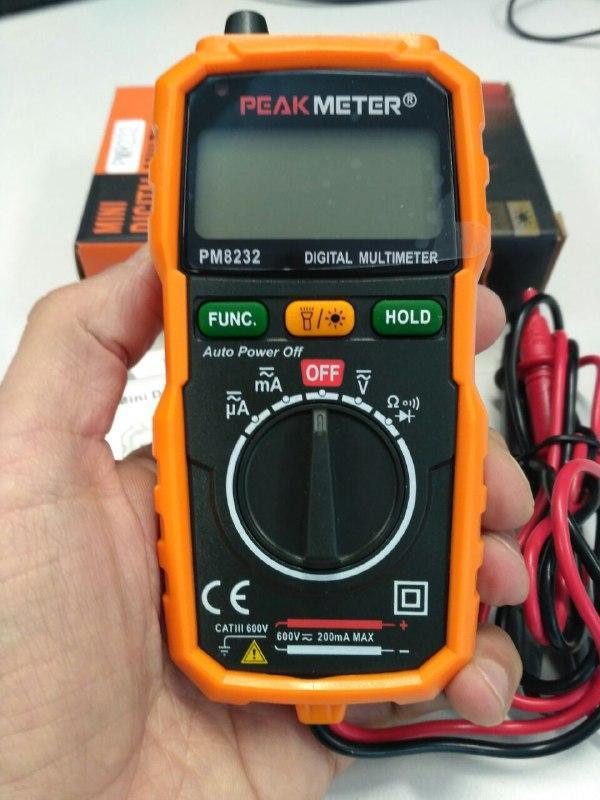 Кишеньковий цифровий Мультиметр PM8232 PROTESTER