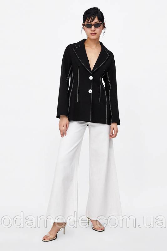 Пиджак женский  ZARA черный
