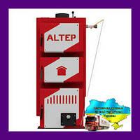Твердотопливный котел длительного горения Altep CLASSIC 10 кВт (Альтеп Классик)