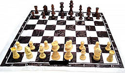 Фигуры шахматные деревянные, большие