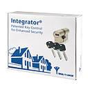 Цилиндр Mul-t-lock Integrator ключ/ключ никель сатин 75 мм, фото 9