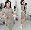 Сукня-сорочка в смужку жіноче (ПОШТУЧНО) M/44