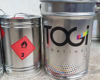 Фарба біла поліуретанова для дерева TOGI 25 кг. + затверджувач 10 л.