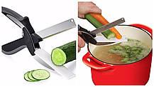 Умный нож ножницы 2 в 1 Clever Smart Cutter, фото 2