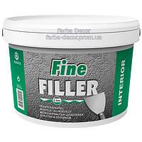 Шпаклевка ESKARO Fine Filler мелкозернистая для стен и потолков, 2,5 л