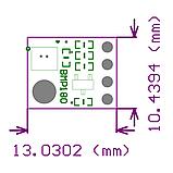 Барометр BMP180 - датчик атмосферного давления с функцией измерения температуры, фото 2