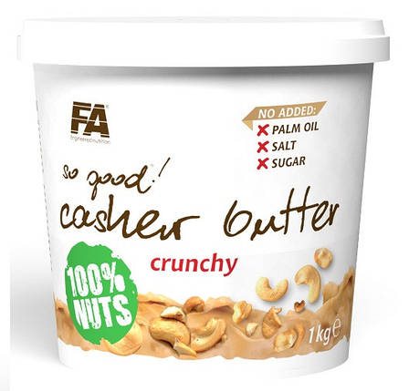 Масло з кеш'ю Fitness Authority So Good! Cashew Butter 1000 г , фото 2