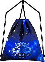 Рюкзак сумка для сменной обуви на шнурках спортивный школьный Winner One M-47