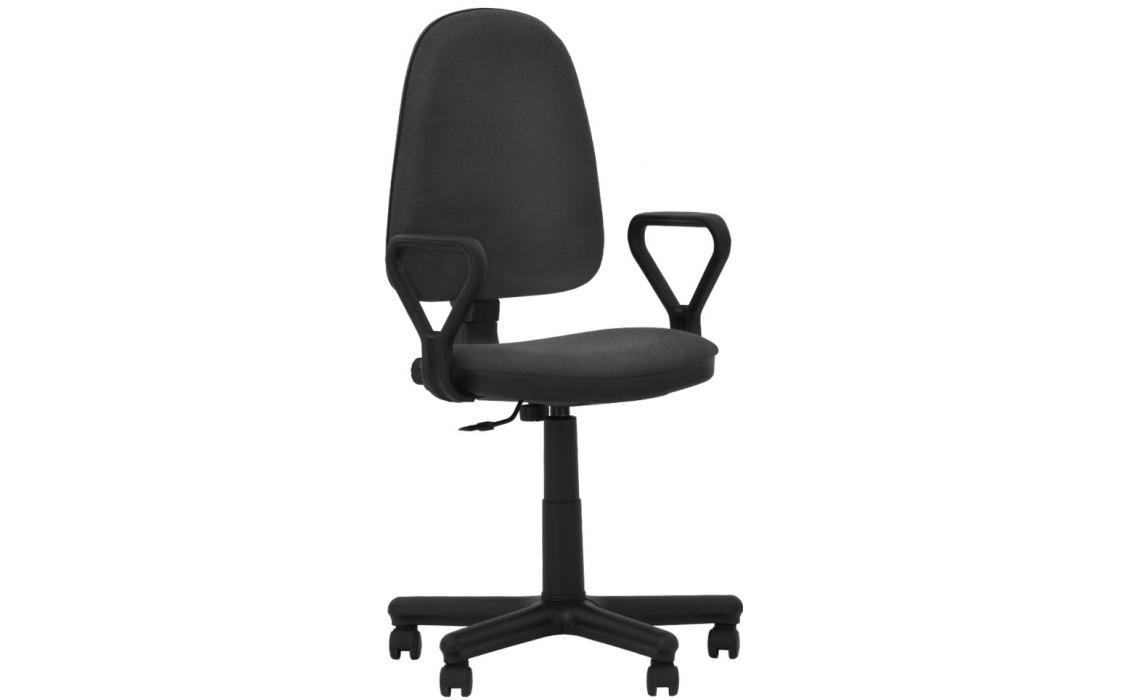 Офисное кресло Стандарт STANDART GTP C-26 темно-серый с подлокотниками от Nowy Styl