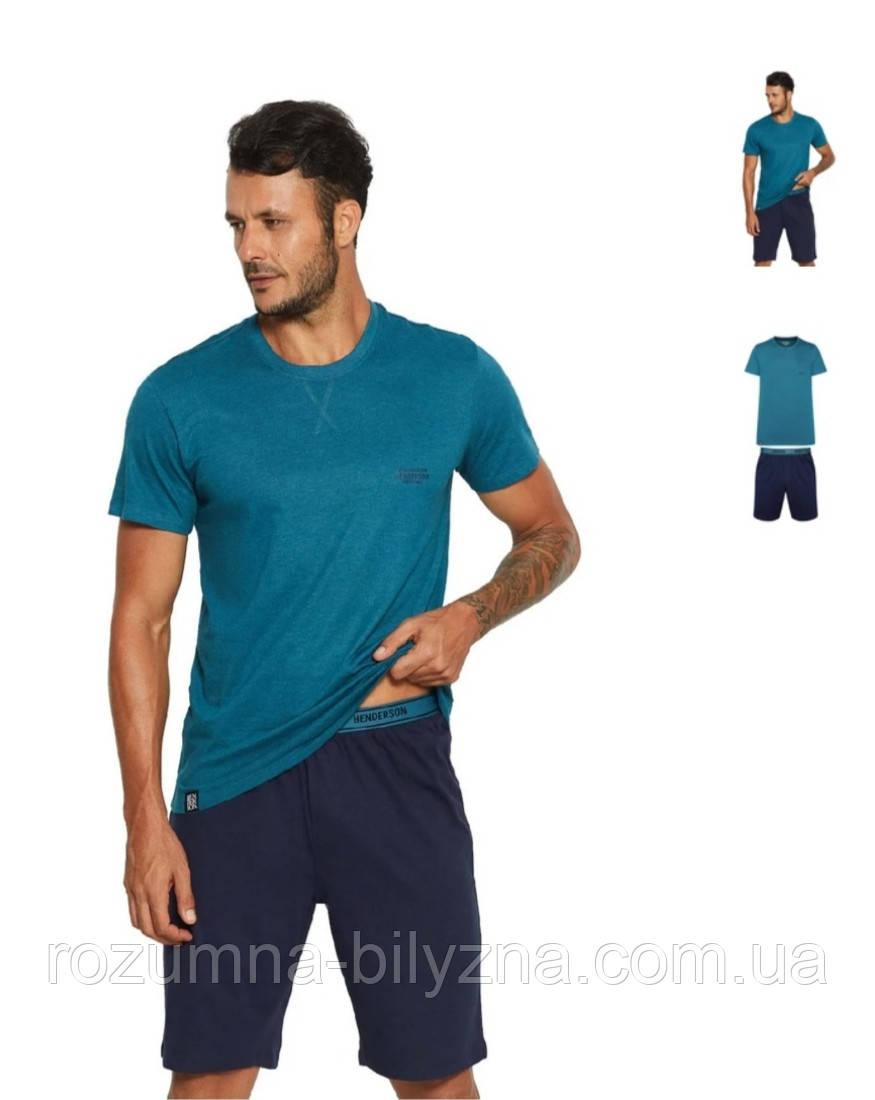 Піжама чоловіча , футболка + шорти, ТМ HENDERSON, Польща