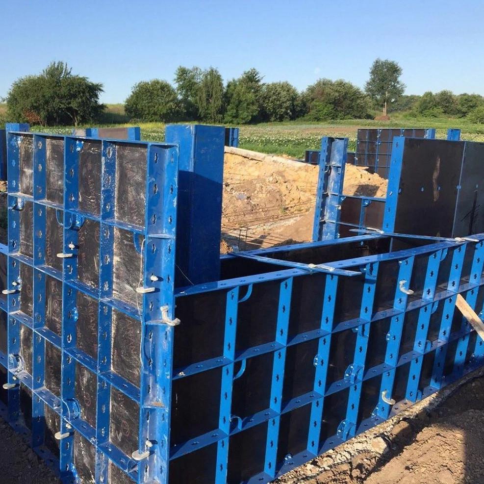 Мелкощитовая опалубка HANDI (легкая, 40 кН/м²) - ручная опалубка для фундаментов, стен и колонн