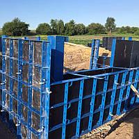 Мелкощитовая опалубка HANDI (легкая, 40 кН/м²) - ручная опалубка для фундаментов, стен и колонн, фото 1
