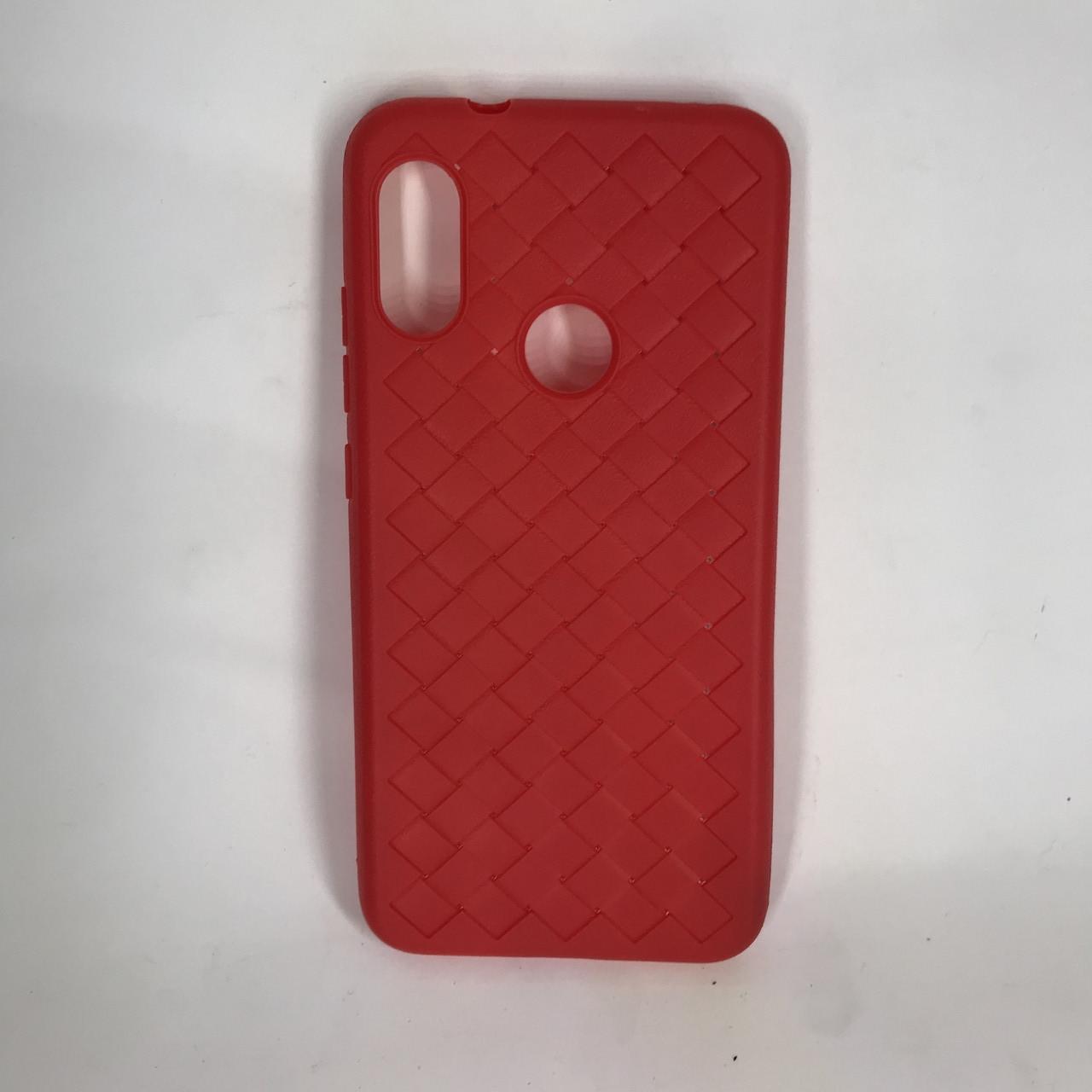 Чехол накладка Bottega Veneta Xiaomi Redmi 6 Pro (Красный)