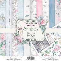 Набор скрапбумаги Shabby love 20x20 см 10 листов