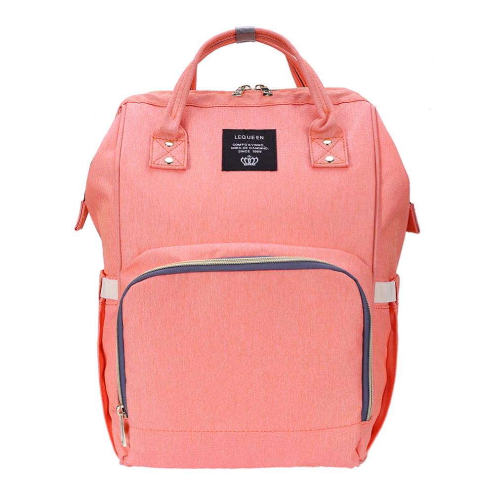 Рюкзак органайзер для мам BEBEWING персиковый