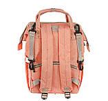 Рюкзак органайзер для мам BEBEWING персиковый, фото 3