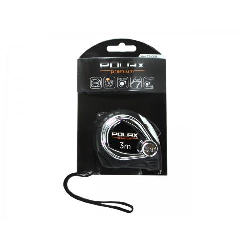 """ТМ""""POLAX"""" Рулетка Premium 3*16mm ( нейлоновое полотно ) (шт.)"""