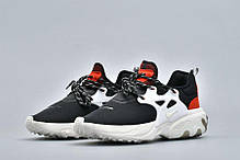 """Кроссовки Nike Air Presto React """"Черные"""", фото 2"""